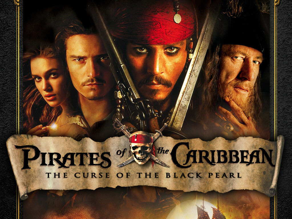 Pirates of the Caribbean 5-Movie Collection 1 2 3 4 5 Blu-ray Set Region Free