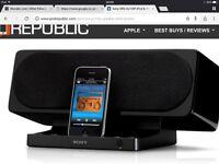 Sony iPod / iPhone docking station