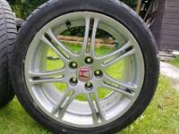 Honda Civic Type R ep3 wheels x 2