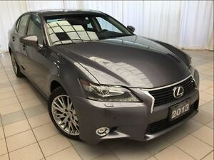2014 Lexus GS 350 Luxury Package: 1 Owner, Navigation, AWD.