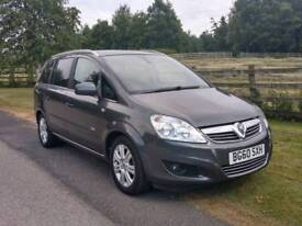 2010 vauxhall zafira Automatic 1.9 cdti diesel family 7-seater low mileage car 60450
