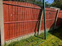 6 foot high v mesh fence panel