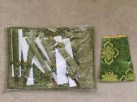 Oriental silk placemats