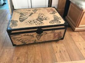 Large butterfly storage trunk
