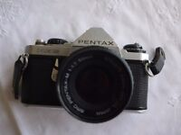 Pentax ME super Camera - complete with instruction booklet