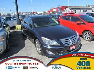 2012 Hyundai Genesis 3.8 TECH PACKAGE | NAV | LEATHER | BACKUP C