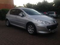 Peugeot 307 Automatic + semi auto looks and runs perfectly 1year MOT & only 6500miles
