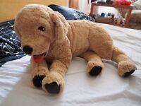 Ikea dog plush doll