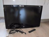"LG 37LF2510 37"" Full HD 1080p LCD TV for spare or repair."