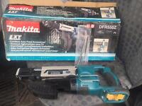 Makita DFR550Z screw gun