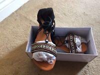 Aztec Sandals