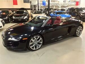 2011 Audi R8 SPYDER 5.2L V-10 LOCAL ONTARIO CAR