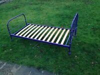 Single bed frame (metal)