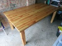Solid Pine Table, Greenford.