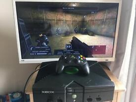 Original Xbox Console & Controller For Sale