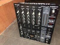 BEHRINGER DJX900 USB PROFESSIONAL DJ MIXER PERFECT WORKING ORDER