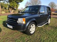 L/rover discovery 3 2.7tdv6 7 seater 58 reg