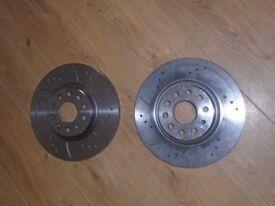 312mm 5x112 discs brand new