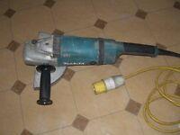 MAKITA 9'' GRINDER 110 volt FOR SALE