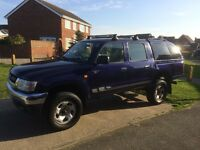 Toyota Hilux 2.5 280 EX 4dr 3 Owners, Full service history, MOT Due: 03/09/2017 NO VAT