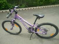 Girls Specialized Hotrock 24 mountain bike