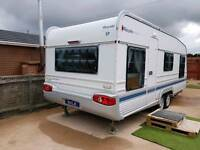 2005 wilk 6 berth caravan. like new.