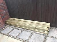 Decking boards brand new