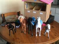 Children's pony play set