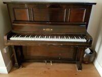 Vintage Hicks upright piano