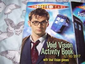Dr Who set of 10 activity books