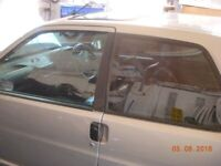 Peugeot 106 Tinted Front Windows, GTi, Quiksilver
