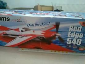 FMS 540 Edge RC Stunt aeroplane