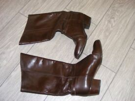 Ladies Brown boots by Harrods size 4.5