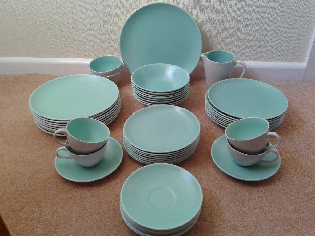 Vintage Poole Pottery Dinner Set In Coventry West