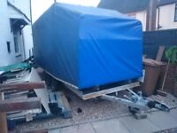 Car transporter, tow a van, box trailer