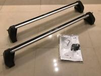 Genuine Ford Fiesta Mk7 Roof Bars+Fitting instructions