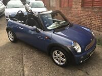 2005/05 MINI 1.6 COOPER CONVERTIBLE ONLY 76K