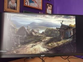 great wide screen gaming 34 inch monitor Acer BX340C