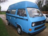 T25 AUTOMATIC DEVON CAMPER VAN Superb looking and driving van ready to go touring.
