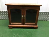 TV Cabinet -Yew Tree & Glass
