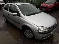 03 REG CORSA WITH THE SMALL ENGINE WHICH WILL BE GREAT FOR FIRST TIME WITH LOW INSURANCE...CHEAP RUN