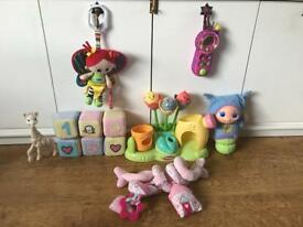 1st Baby Girl Toy Bundle