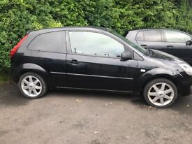 FORD FIESTA ZETEC CLIMATE, 1.4 3 DOOR HATCH, PANTHER BLACK, MOT'D