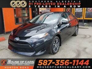 2017 Toyota Corolla LE Sunroof/Backup Cam/Heated Seats