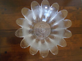 Dartington Crystal large Daisy Bowl