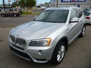2013 BMW X3 xDrive28i PREMIUM PACK/PANO ROOF/1 OWNER!