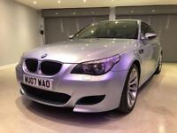 BMW 5 SERIES 5.0 M5 4d AUTO 501 BHP FREE DELIVERY TO YOUR DOOR (blue) 2007