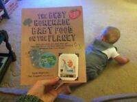 Baby weaning recipe book