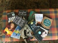 Bundle of 12 books of mixed genres. £4 ( less than 30p per book.