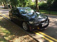 BMW 330i auto M Sport Coupe i Drive satnav Black cheap mot 325 320 335